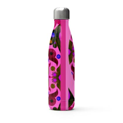 bottiglia per bibita personalizzata linea acquarelli