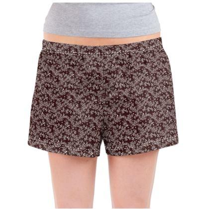 Rosehip Lace Ladies Pyjama Shorts