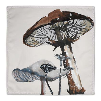 100% Cotton Mushroom Napkins