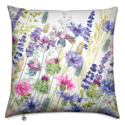 Walking Through Whimsy Luxury Cushion