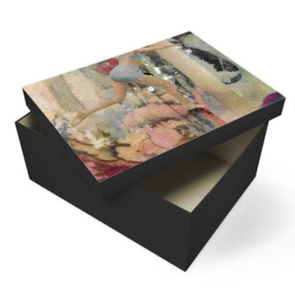 Vintage Swimmers Photo Box