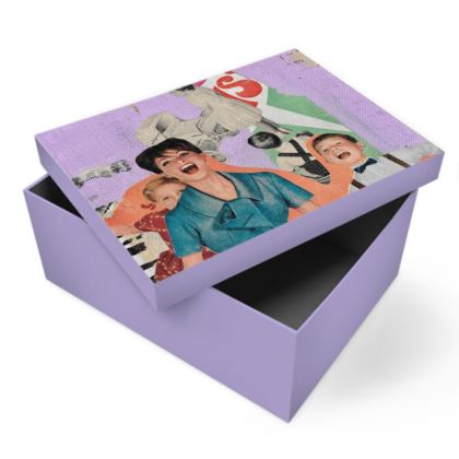 Purple Family Photo Box