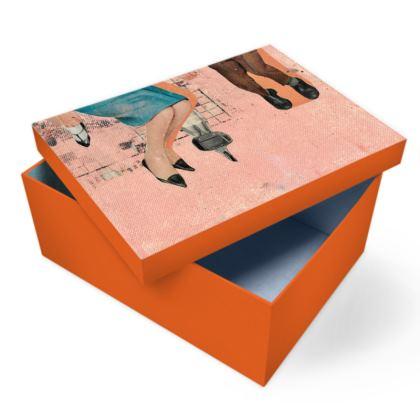 Orange Family Photo Box