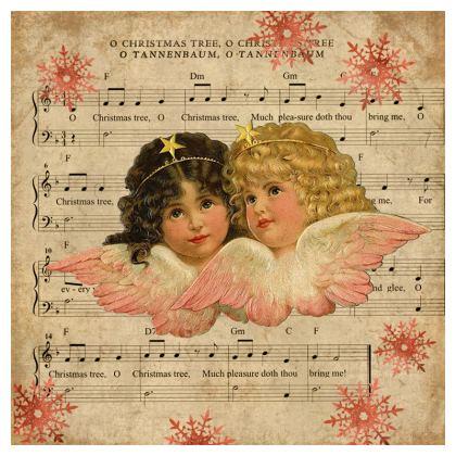 Vintage Christmas Cherub Cushions