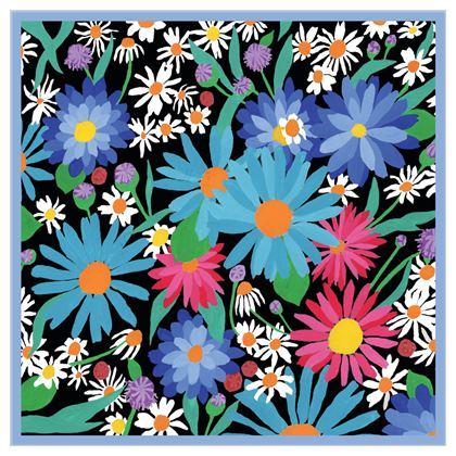 Colourful Garden Scarf