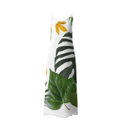 Slip Dress- Emmeline Anne Luscious Leaves