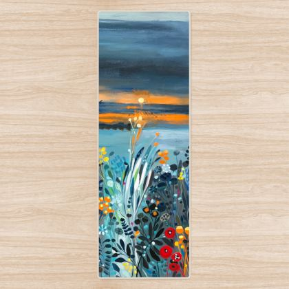 Yoga Mat in Natalie Rymer Setting Sun design