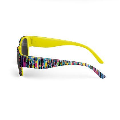 Hello and Goodbye Yellow Sunglasses