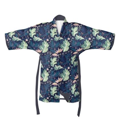 "The Secret Garden  - ""Water"" Kimono"