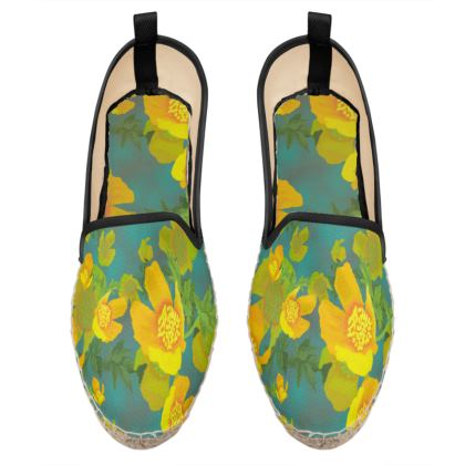 Loafer Espadrilles  Field Poppies  Pond Life