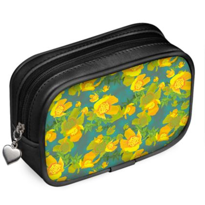 Pouch Purse  Field Poppies  Pond Life