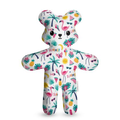 Flamingo Fiesta - Teddy Bear