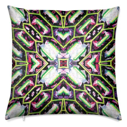 """Palmares"" Luxury Velvet Cushion"