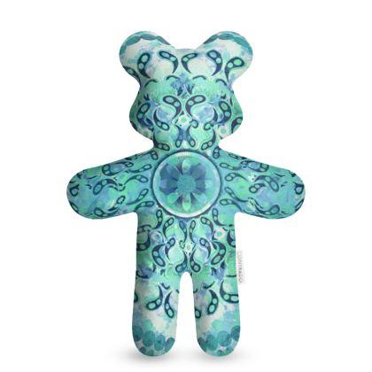 Mandala Mosaic Teddy Bear