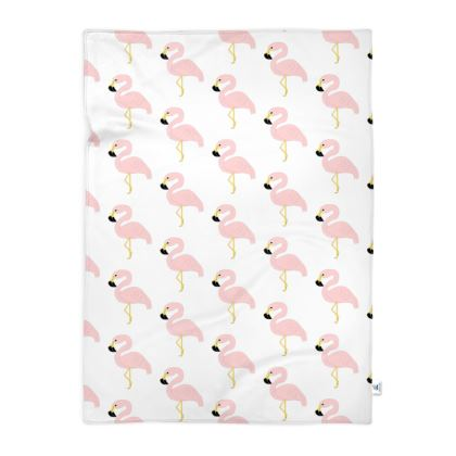 Blanket Flamingos