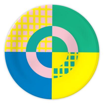 China Plates- Geometric Style