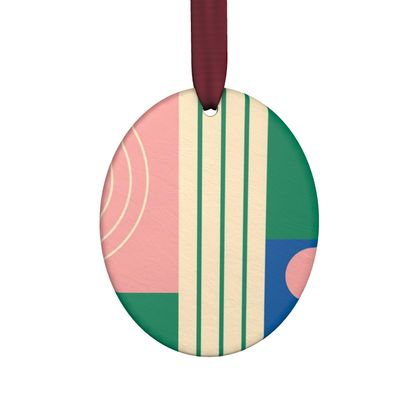 Hand Made Flat Ornaments- Abstract