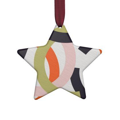 Hand Made Flat Ornaments- Stargazing