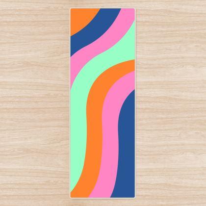 Yoga Mat- Spring Swirl