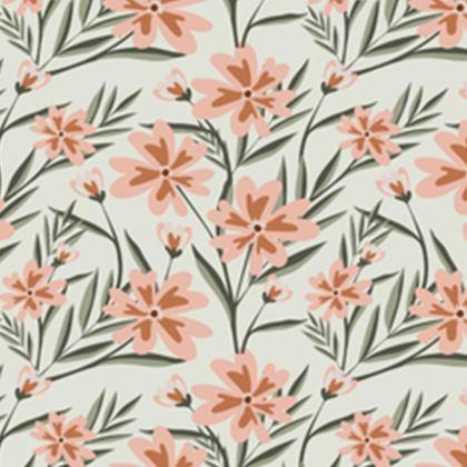 Flower Flow Luxury Cushion