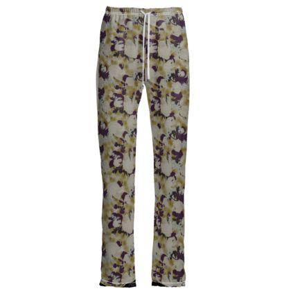 Womens Trousers  Field Poppies  Blackberry Latte