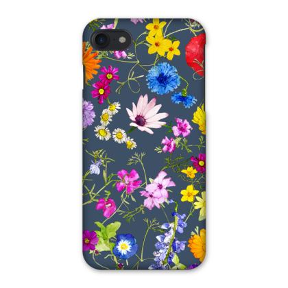 IPhone Case - Tangle of Wild Flowers