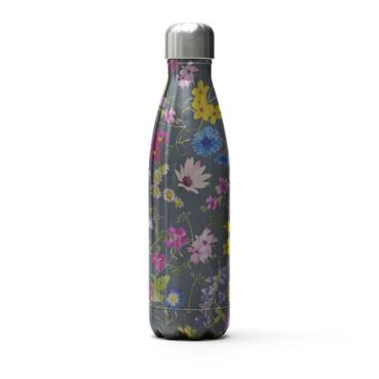 Thermal Bottle - Tangle of Wild Flowers