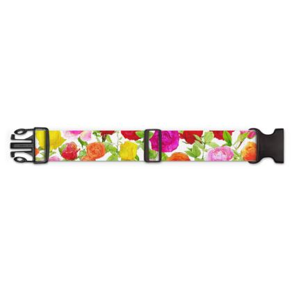 Luggage Strap - Riot of Roses