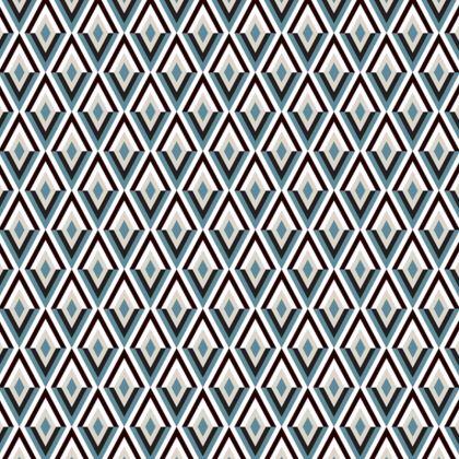 Art Deco Diamonds Occasional Chair