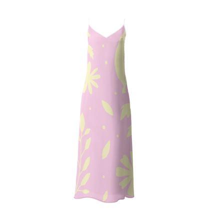 Slip Dress- Emmeline Anne Yellow Flowers