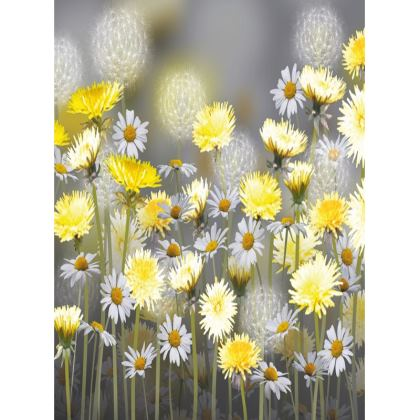 Tray - Dandelion and Daisy Meadow