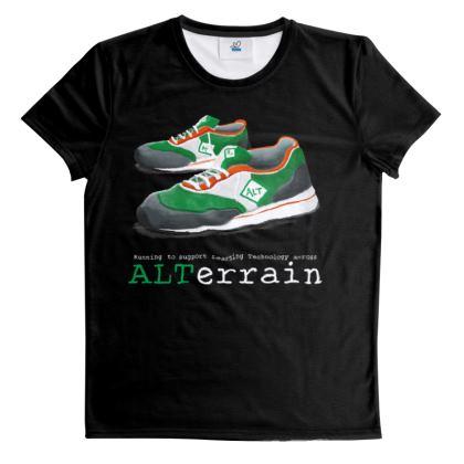 #altc Running Logo - Black