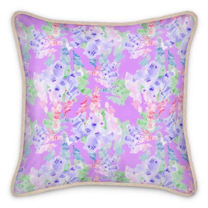 Silk Cushions  Moonlight  Blackberry