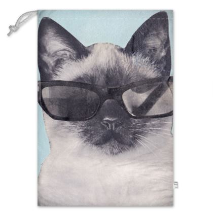 Cool Cat Toy Sack