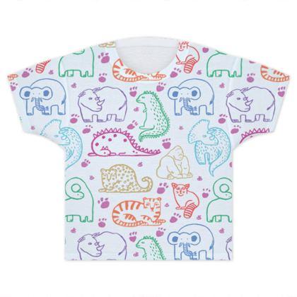 Unisex Endangered Animal Kids T-shirt