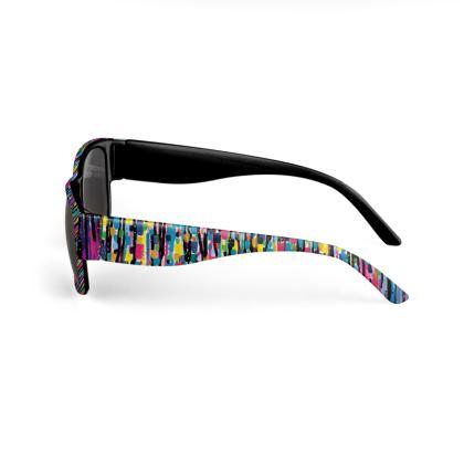 Hello and Goodbye Black Sunglasses