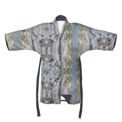 Pastel Greys Kimono