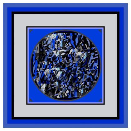 Cuscino  elegante con disegno artistico