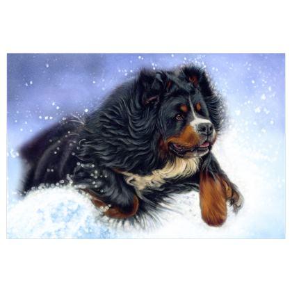 BERNESE MOUNTAIN DOG FESTIVAL FLAG - 150X100CM