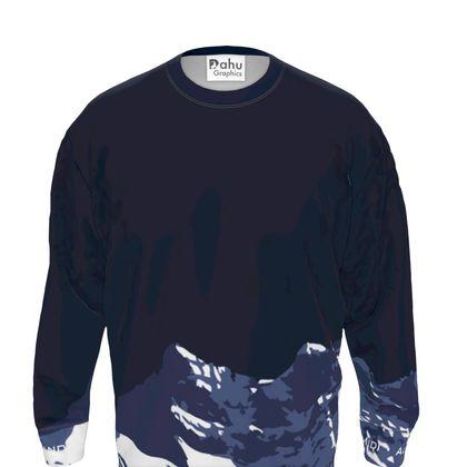 Sweatshirt - Navy - Dents du Midi