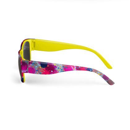 Katy Yellow Sunglasses
