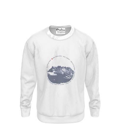 Sweatshirt - Dents du Midi - Circle light