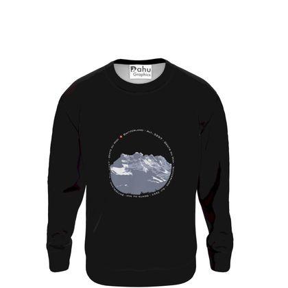 Sweatshirt - Dents du Midi - Circle dark
