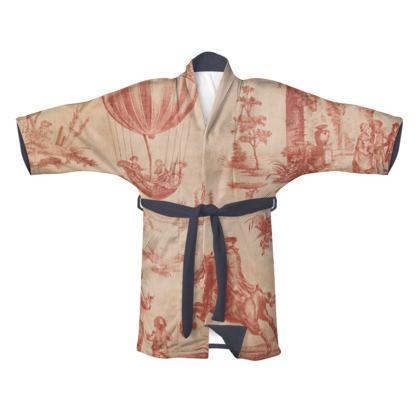 Traditional Silk Kimono The Ballon of Gonesse