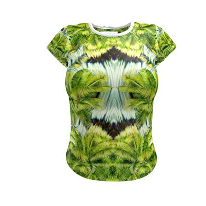 Palm Trees Abstract T-Shirt