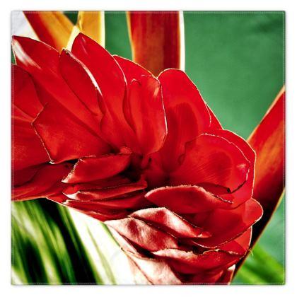 Exotic Flower Scarf Wrap or Shawl