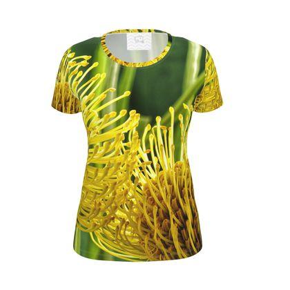 Yellow and Green Pin Cushion T Shirt