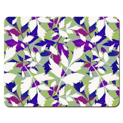 Placemats  Diamondl Leaves  Treetops