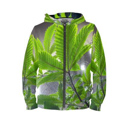 """""""Royalties"""" Green Leaf Hoodie"""