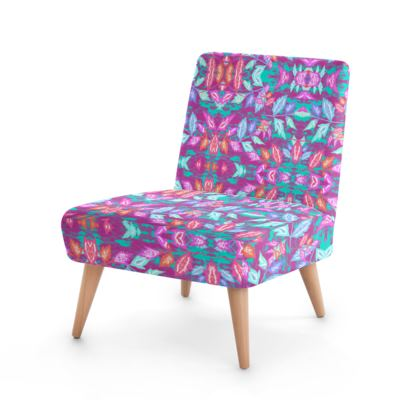 Occasional Chair  Diamond Leaves   Harlequin
